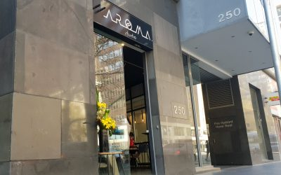 Aroma Studio Specialty Coffee Opens at 248-250 Queen Street, Melbourne