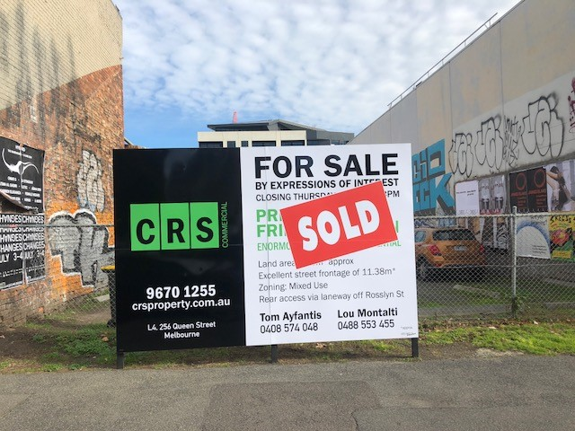 City Fringe Development Site Sells For $8777M2